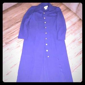 Dresses & Skirts - Winter Purple midi dress, 12